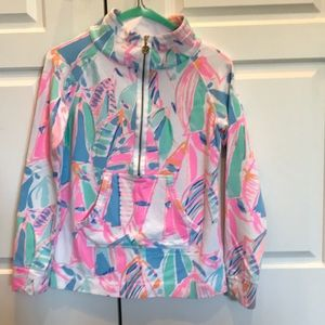 Lilly Pulitzer Skipper popover XXS- Out to Sea